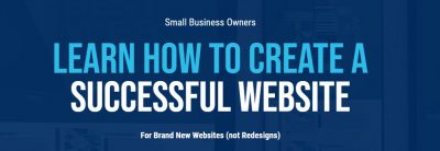 Creating a Brand New Website Course Header